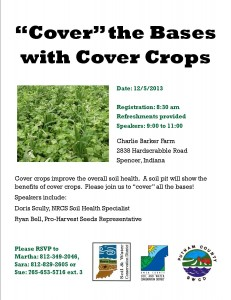 Cover Crop Field Day 2013
